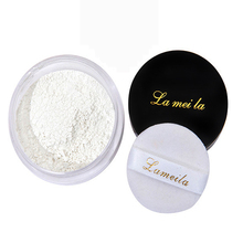 Professional Face Base Cosmetics Waterproof Whitening Minerals Oil Control Transparent Loose Powder Face Makeup