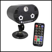Good quality and price Mini remote Laser Projector Stage Lighting Effet with LED light System  DJ Light  Party Disco Lights
