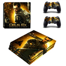 Buy Deus Ex Mankind Divided Decal PS4 Pro Skin Sticker Sony PlayStation 4 Console Controllers PS4 Pro Skin Stickers Vinyl for $9.49 in AliExpress store