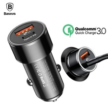 Buy Baseus 36W Type-C PD Quick Charge Car Charger iPhone X 8 Fast Charging QC 3.0 Car Charger Samsung S9 S8 PD Cable for $11.99 in AliExpress store