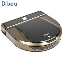 Dibea D900 Wireless Wet and Dry Robot Vacuum Cleaner Bagless Household Aspirator Remote Control Auto Charge Vacuum Cleaner(China)