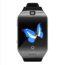 Bluetooth smart health electronics watch Apro Q18s NFC SIM Video camera Support Android/IOS phone wearable devices PK gt08 dz09