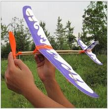 1PCS Flying Glider Planes Aeroplane Party Bag Fillers Childrens Kids Toys Game Prizes Gift Model ed-013(China)