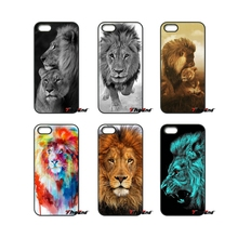 Animal Lion wild Luxury Lions Art Print Phone Case For Samsung Galaxy Note 2 3 4 5 S2 S3 S4 S5 MINI S6 S7 edge Active S8 Plus(China)