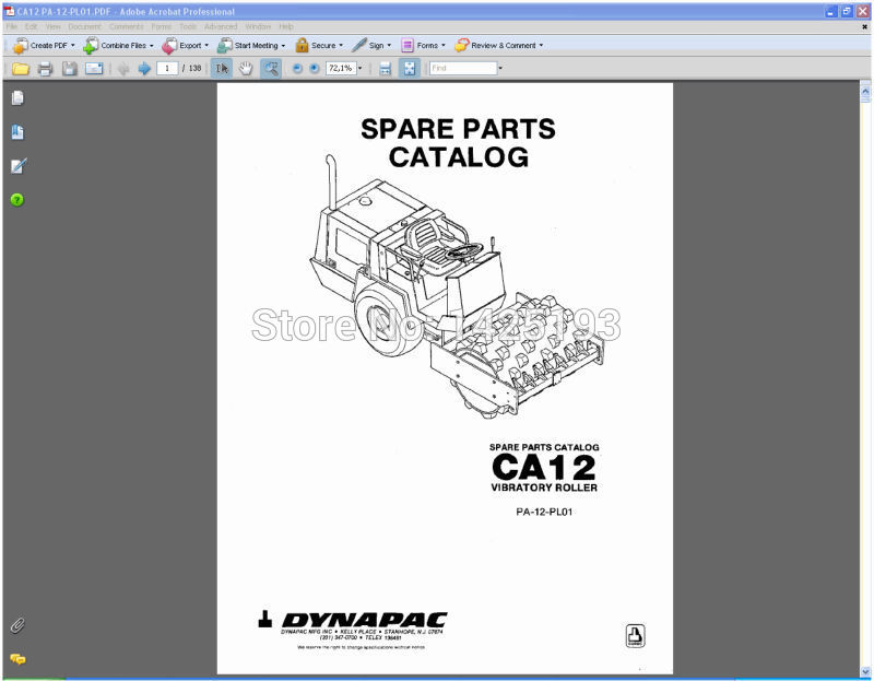 DYNAPAC Spare parts catalogues and  service manuals<br><br>Aliexpress