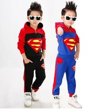 super hero costume for boys superman suit black suit superman boys birthday gift halloween cosplay wear for boys sport costume