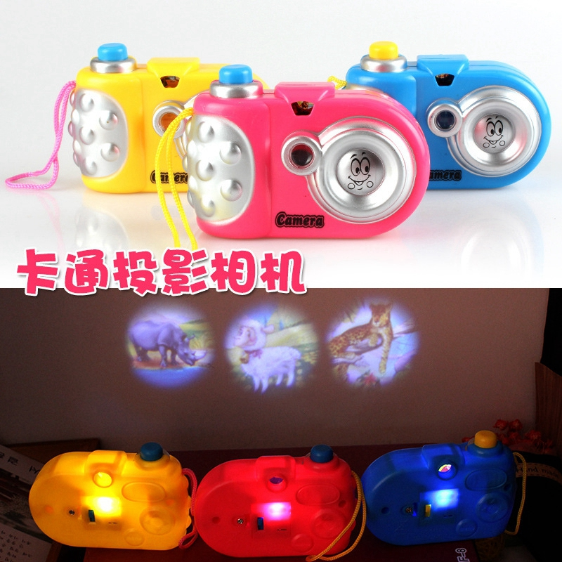 Hot Boutique 1pcs Cute Camera Hanging DIY Camera Projector Room Decoration Furniture Children Toys Christmas Gift  Color  Random