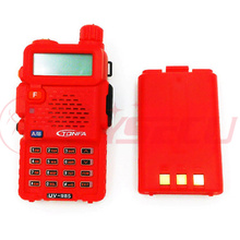 top selling professional walkie talkie uv-985 Red