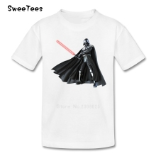 JEDI Star Wars T Shirt Kids Pure Cotton Short Sleeve O Neck Tshirt children's Clothing 2017 Funny T-shirt For Boys Girls Infant