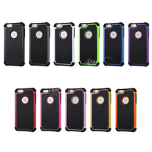 Hybrid rough football case For iphone 7 6 6S Plus 5 5S SE 4 4S 2 in 1 Hard PC Soft TPU Shockproof back cover