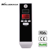 MALUOKASA PFT-661S Dual Screen Breathalyzer Portable Breath Alcohol Tester Digital Detector Alcohol Detection for Drunk Driving(China)