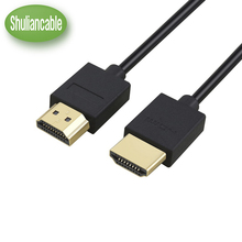 Shuliancable HDMI Cable 1ft 1m 1.5m 2m 3m 5m 7.5m 10m High Speed Ethernet HDMI Cable1.4 Version 1080P 3D for HDTV XBOX computer(China)