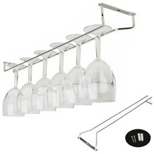 Top Quality 27/35/55cm Stainless Steel Wine Rack Glass Holder Hanging Bar Hanger Shelf