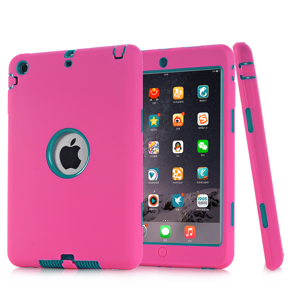 Shockproof Drop resistance Waterproof With Stand Cover case For iPad Mini 1 2 3  Free Stylus Pen + Film<br><br>Aliexpress