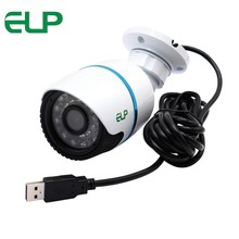 0.3MP VGA Waterproof Face Detection plug and play cmos ir infrared bullet outdoor driver usb camera