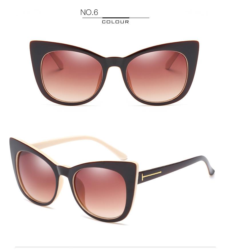 Luxury Vintage Cat Eye Sunglasses Women Brand Designer Retro Female Sunglass Points Sun Glasses For Women Ladies Sunglass Mirror (12)