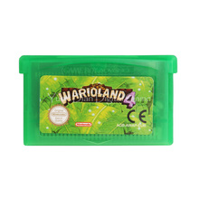 Nintendo GBA Video Game Cartridge Console Card Wario Land 4 EU English Language Version(China)
