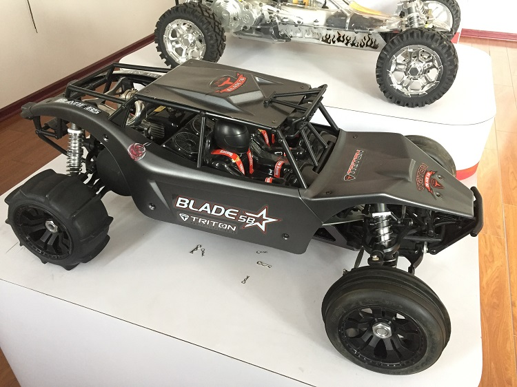 For 1//5 HPI Baja 5T Team Chase Class One Cage Rovan FT Wing Kit Truck Oversize