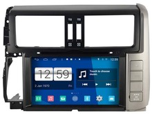 S160 Android Car Audio FOR TOYOTA PRADO 150 Series (2010-2011) car dvd gps player navigation head unit device BT WIFI 3G