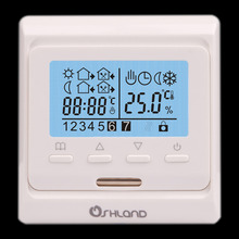Buy LCD Digital Heating Thermostat 16A Programmable, thermostat underfloor heating, Whole-sale-M6.716 for $25.80 in AliExpress store