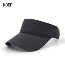 KOEP Empty Top Golf Cap Hat Snapback Men Women Polyester Breathable Adjustable Fitted Baseball Cap For Outdoor Sports(China)