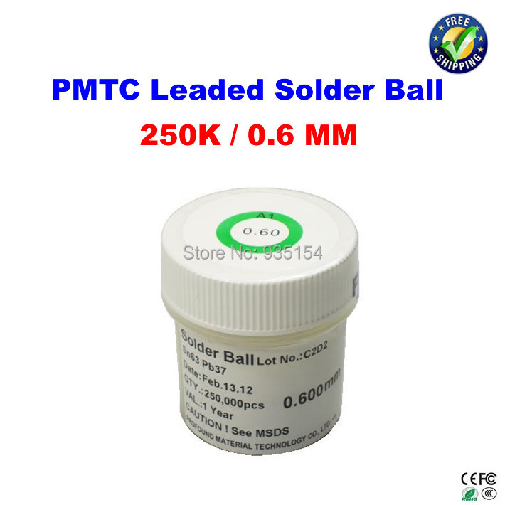 PMTC leaded solder balls 250k 0.6 mm for bga rework reballing<br><br>Aliexpress