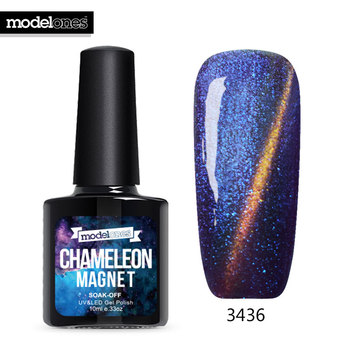 Modelones Chameleon Cat Eyes Nail Polish Long Lasting UV Nail Gel Lacquer Soak Off Magnet UV Gel Nail Paint Need Led Lamp Gel