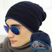 Men Women Warm Autumn Winter Knit Ski Beanie Skull Cap Hat Unisex Cashmere Elastic Hip-Hop Hats