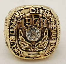1978  Alabama Crimson Tide National Championship Replica Ring good quality ring!!!!