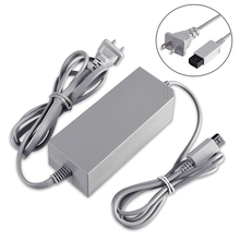 50pcs a lot Wholesale US Plug 100-240V DC 12V 3.7A Home Wall Power Supply AC Charger Adapter Cable for Nintendo Wii Console