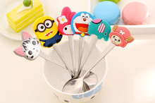 Factory 11Models Cartoon Choice - 15.5CM Stainless Baby Kid's Home Dining Salad Ice Cream Soup Coffee(China)