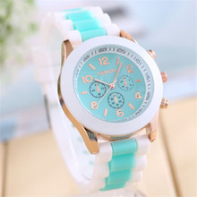 9s & cheap 1PC Unisex Fashion Silicone Quartz Men Women Jelly Wrist Casual Sports Watch #25809 High Quality Watch 0717