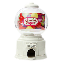 FJS!Home plastic Candy Machine Money Bank Gift Storage Box Presents for the children&lover white(China)