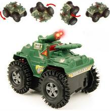 1pc/pack children vehicle tank toys/ Kids battery flashing traffic car electric tank diecast toys, fast shipping