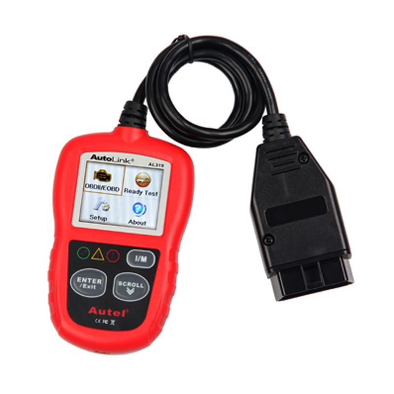 Autel AutoLink AL319 On-Board Diagnostics OBDII/CAN Code Reader Auto Fault Code Scanner<br><br>Aliexpress