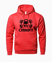 Crossfit men hoodies 2017 hot sale sweatshirt men spring winter fleece high quality fitness hooded men fashion brand clothing(China)