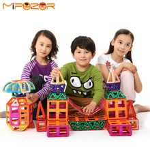 MIPOZOR 50Pcs Large Size Magnetic Designer 3D Model Building Enhance Intellectual Development and Creativity Blocks Toys MDL50(China)