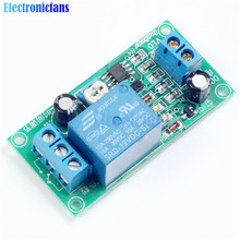 DC 12V To 30VDC/250VAC 0-60S Delay Timer Switch NE555 Adjustable Time Delay Relay Module Free Shipping