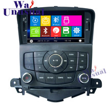"7"" Professional Wince Car Entertainment System Multimedia DVD Player For Chevrolet Cruze Auto GPS Navigation 8GB Free Maps"