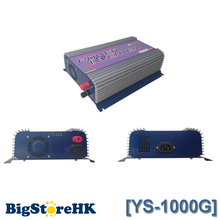 1000W 110V Output Small Pure Sine Wave Grid Tie Inverter PV System SGPV MPPT Function