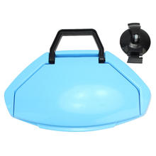 Portable Strong Suction Cup Sucker Clamshell Garbage Bag Trash Rubbish Can Rack Fixed Hanger Kitchen Sink Hanging Storage Holder