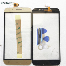 ESUWO Touch Screen Digitizer For DEXP Ixion ES255 Fire Touch Panel Front Glass Sensor Lens 2 Color(China)