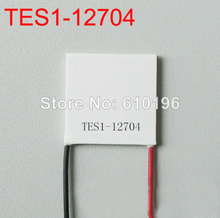 10PCS/LOT TEC1-12704 Thermoelectric Peltier Cooler Cooling 40mm x 40mm x 3.2mm Cooling System Module