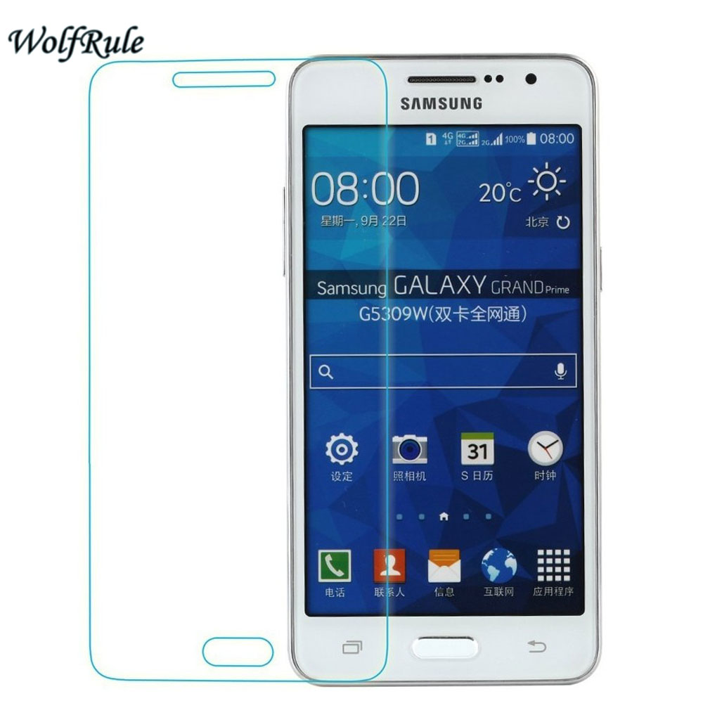 2PCS Screen Protector sFor Glass Samsung Galaxy Grand Prime Tempered Glass Samsung Galaxy Grand Prime Glass G530 Phone Film
