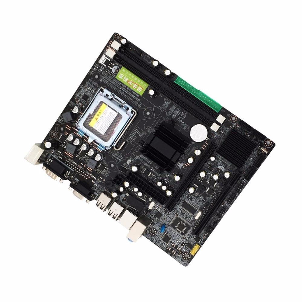 Интернет магазин товары для всей семьи HTB1MBRXDFmWBuNjSspdq6zugXXa7 Профессиональный 945 материнской 945GC + ICH Чипсет Поддержка LGA 775 FSB533 800 мГц SATA2 Порты двухканальный DDR2 памяти
