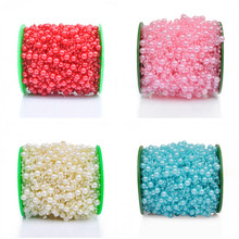60M Fishing Line Artificial Pearl Spray Beads Garland Wedding Tree Centerpiece Flower/Table Decoration Crafting DIY Accessories