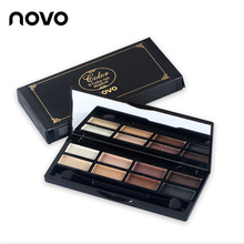 brand NOVO 8 colors matte eyeshadow palette professional urban makeup eyeshadow shimmer nude tude balm naked eye shadow set(China)