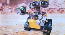2017 New 16003 Ideas series the WALL E model building blocks set Compatible original 21303 Classic the robot Toys for children(China)