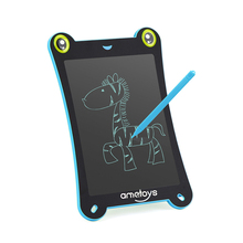 Ametoys Brand 8.5-Inch LCD Learning Notebook Writing Tablet Drawing and Writing Board Office Note-taking gifts toys for children(China)