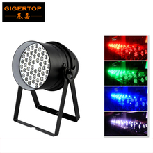 30pcs/lot 54x3W LED Par64 Light RGBW Classical Shape DMX512 4/8CH Led Par can 180W Stage Led par cans European Club Equipments